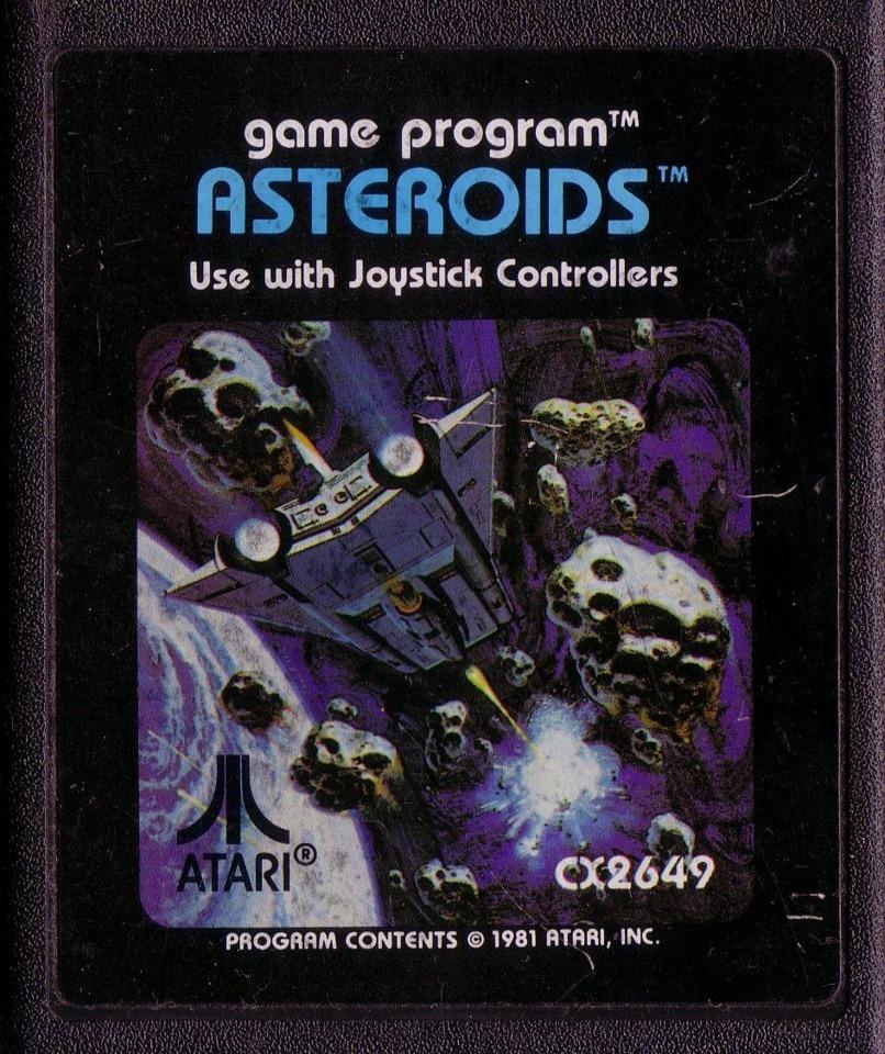 The original Atari 2600 cartridge art is much more eye-catching than the game itself.