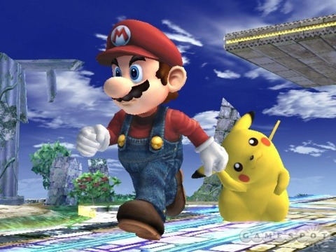 Mario, I choose you!