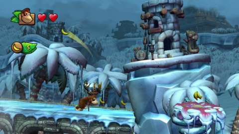 Donkey Kong Country: Tropical Freeze is pretty nice looking, too.