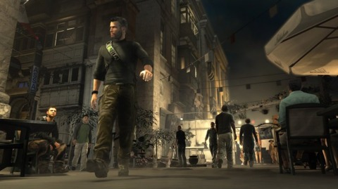 Sam Fisher's march to release looks suspiciously like a leisurely stroll.