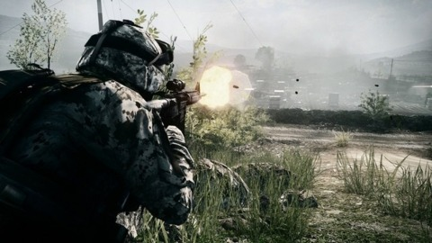 Drake didn't quite have the guns to overhaul Battlefield 3.