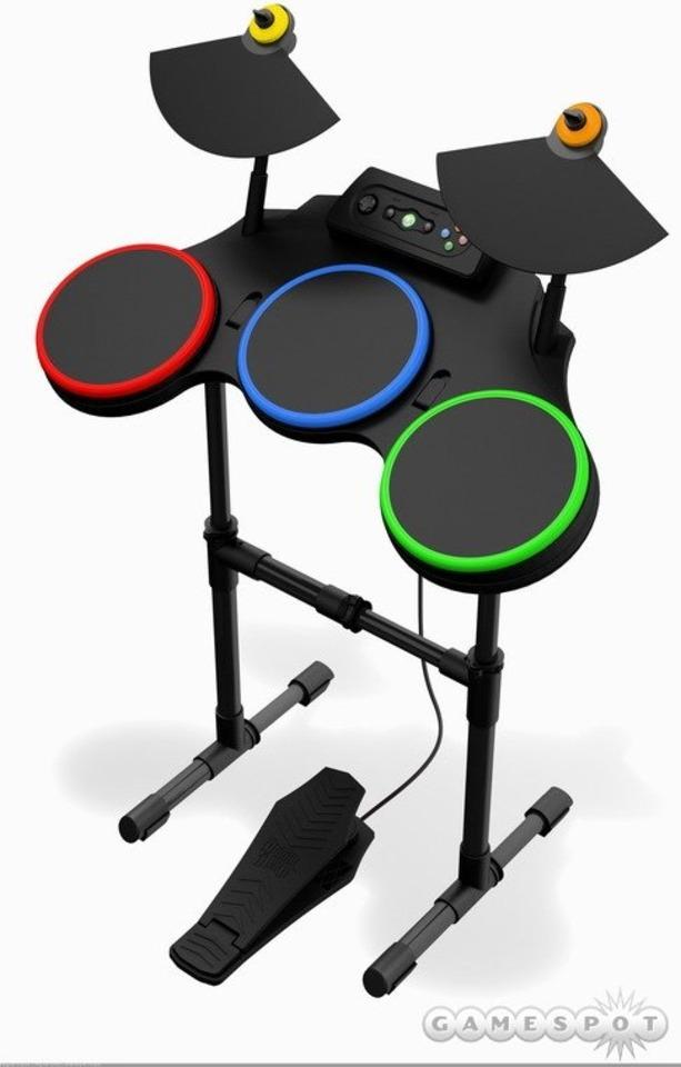 The Guitar Hero World Tour drum kit.