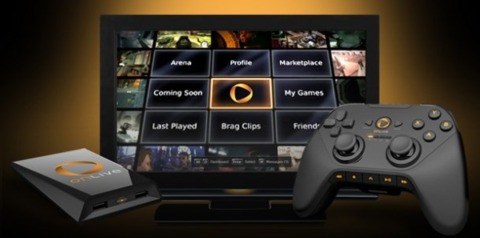 OnLive's microconsole and controller.