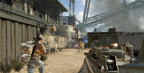 Black Ops continues to gun down Modern Warfare 2's sales records.