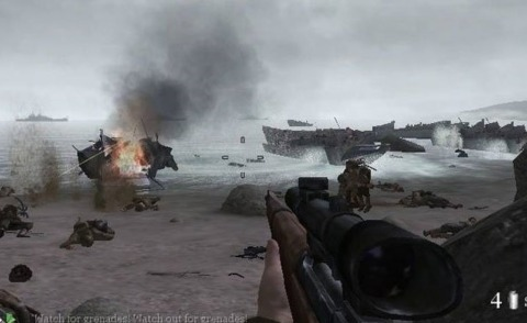 Call of Duty 2 will be storming onto Xbox Live in less than a week.