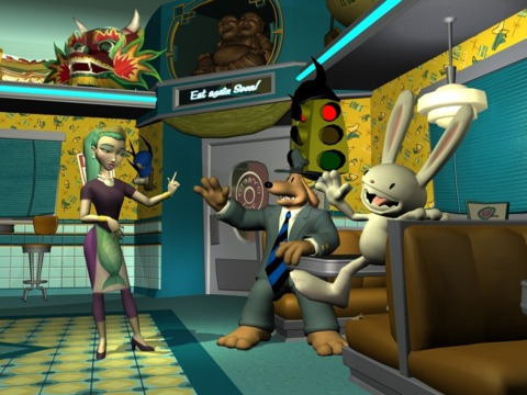 Sam and Max investigate The Penal Zone in their latest adventure.