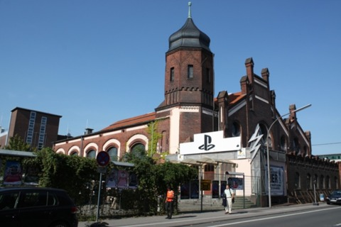 The Sony GamesCom press conference is at a club called E-work, about 10 minutes out of town.