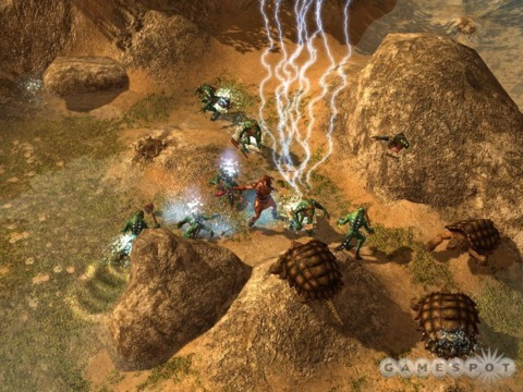 Titan Quest and Djinn were both pitched to THQ around the same time.