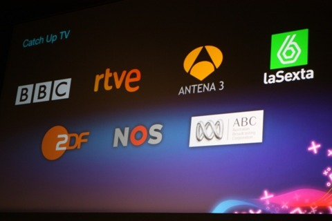 TV catch-up services will allow customers in a number of European territories to watch shows they've missed on the box.