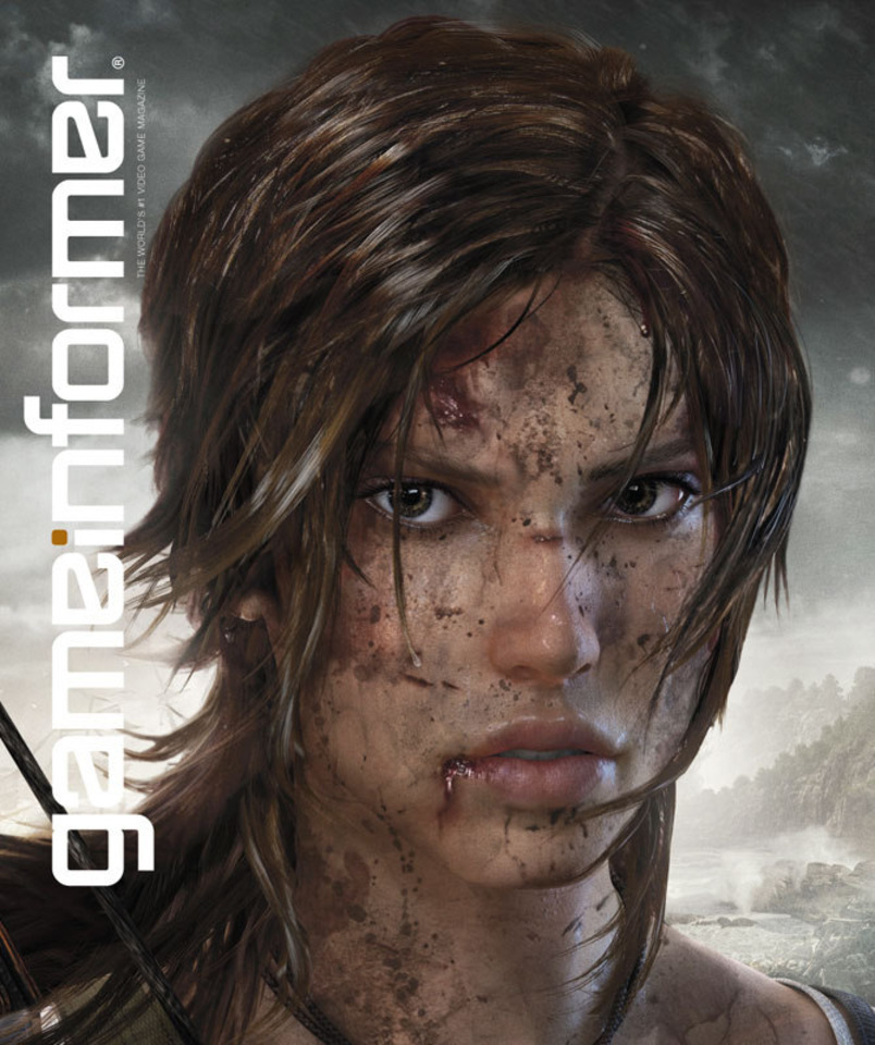 Lara Croft's new look.