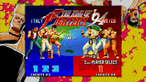 The King of Fighters rumble back to the PSN later this month.