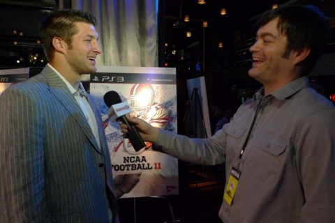NCAA Football 11 cover star Tim Tebow shares a story.