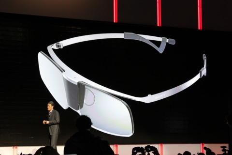 Sony's fancy new 3D glasses.