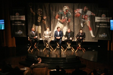 NFL legends gather to talk about the ultimate quarterback.