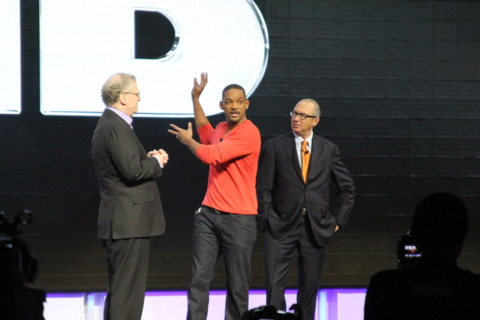 Will Smith live on stage!