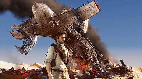 Unlike this craft, Uncharted 3 did not crash and burn on takeoff.