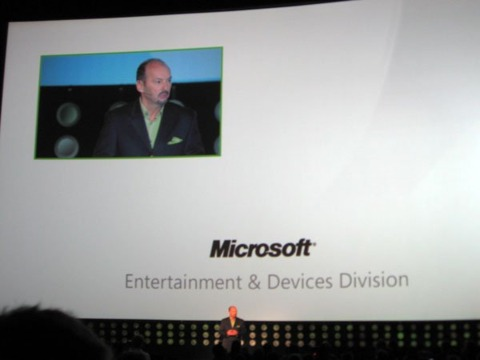 Peter Moore, Xbox 360 poster boy.