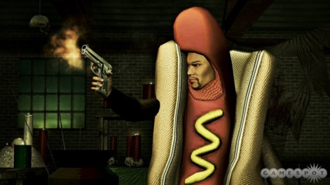 Saints Row 2, now available with all the heat-packing hot dog action and none of the tangibility!