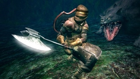 Dark Souls is swinging for the fences.