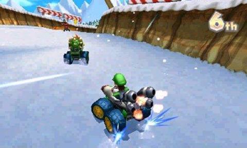 Mario Kart 7 keeps on motoring.