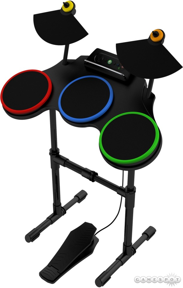 Guitar Hero World Tour's drum kit.