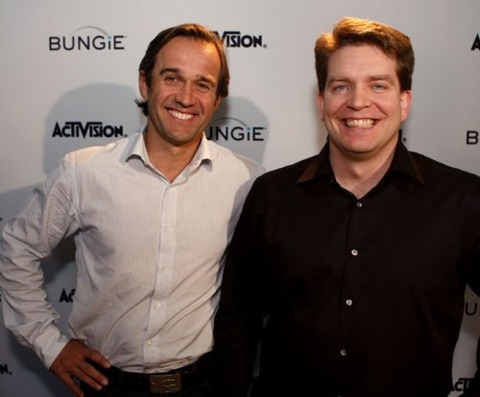 Activision Blizzard COO Thomas Tippl and Bungie president Harold Ryan.
