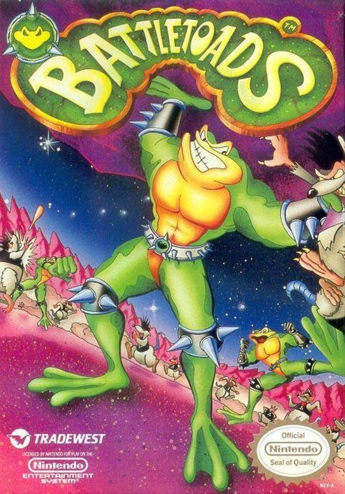 Developed by Rare, Battletoads was one of Tradewest's biggest hits.