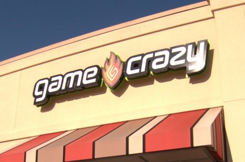 Game Crazy is perishing along with parent Movie Gallery.