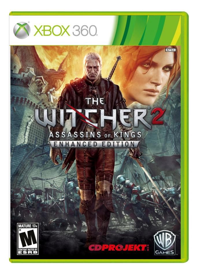 Geralt slays the Xbox 360 this April.