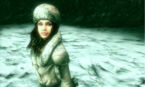 It's important to look good when you're shooting zombies in cold weather.