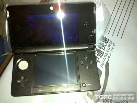 A look at the 3DS, fresh off the assembly line.