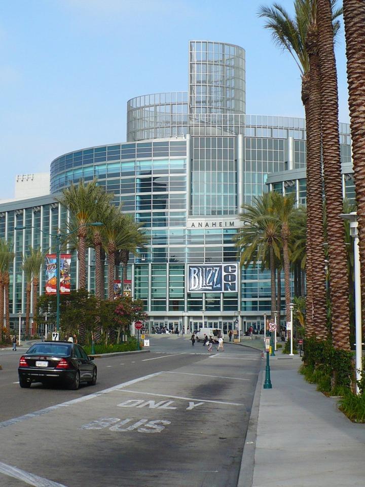 BlizzCon venue, the Anaheim Convention Center.