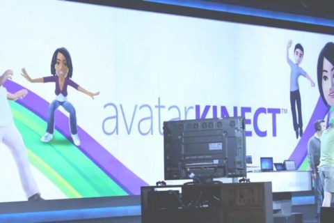 It appears Avatar Kinect is chatting up next Wednesday.