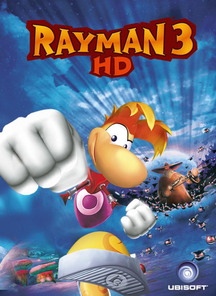 Rayman 3 goes HD next  month.