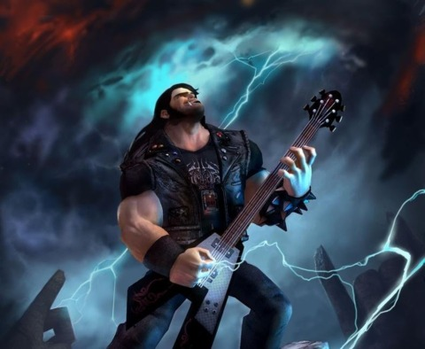 Brutal Legend took home a few awards of its own, including one for its metal-riffic soundtrack.