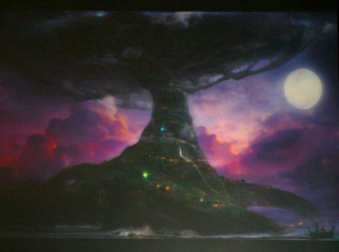 The world tree Teldrassil may serve as one of the movie's locations.