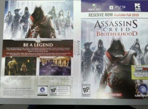Ezio the Assassin has a posse. Photo Credit: Kotaku