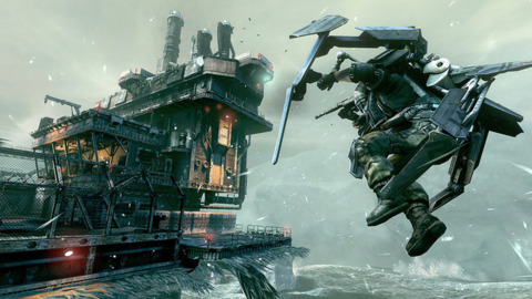 Players can fly the not-so-friendly skies in the new Killzone 3 demo.