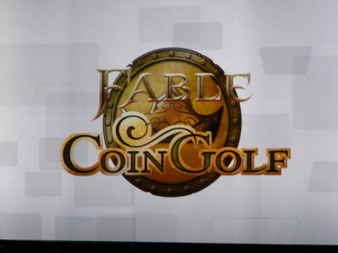 Fable Coin Golf, coming soon to Windows Phone 7.