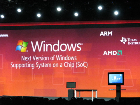 Windows will soon support ARM processors.