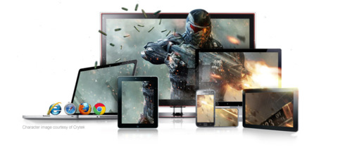 Gaikai specializes in delivering PC games to a variety of connected devices.