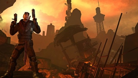 The sun might be setting on Red Faction.