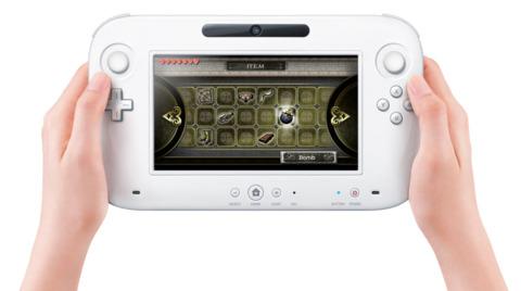 The Wii U controller.