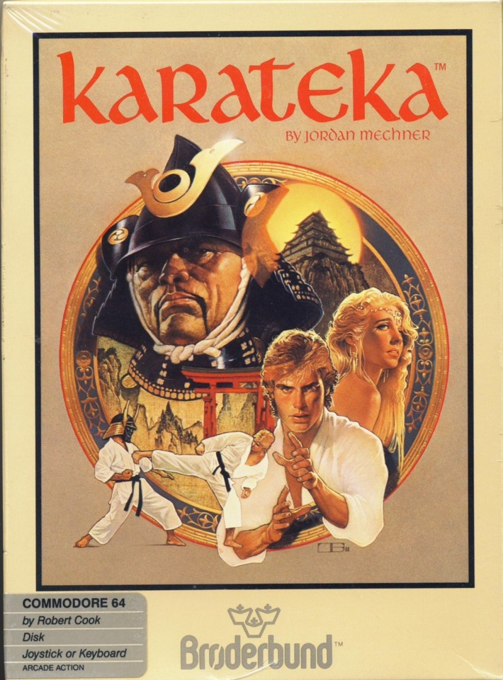 The '80s: When every self-respecting karate master had blond feathered hair.