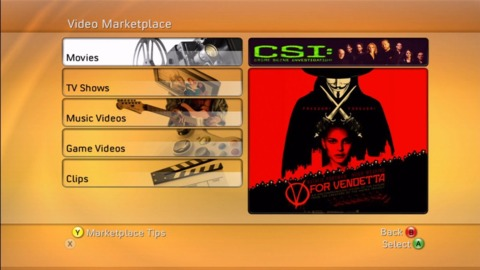 The new Video Marketplace.