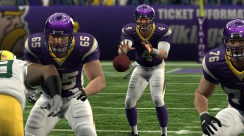 Much like Brett Favre, Madden doesn't have the same spring in its step.