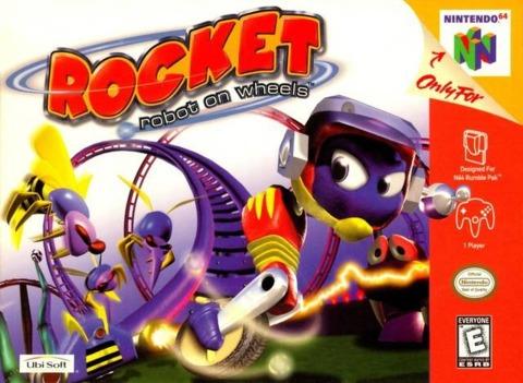 Rocket: Robot on Wheels was Sucker Punch's first game.