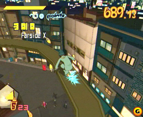 It looks like Jet Set Radio is rolling onto XBL and PSN.