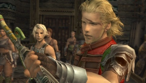 Final Fantasy XII's characters may look English, but it sure isn't their native tongue.