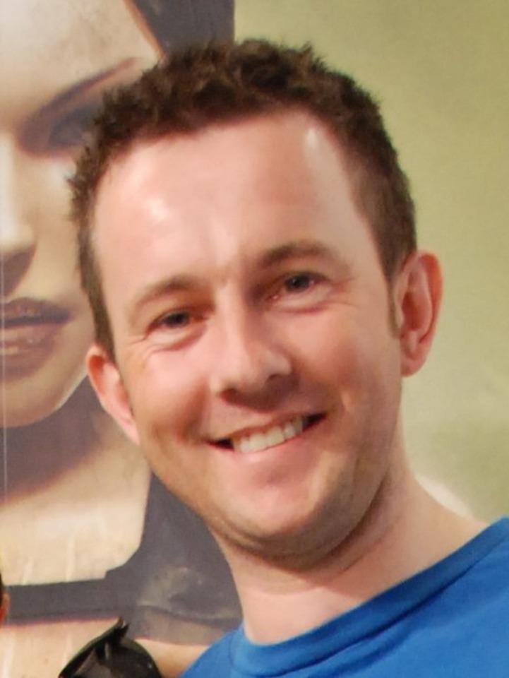 Karl Stewart, global brand director at developer Crystal Dynamics.